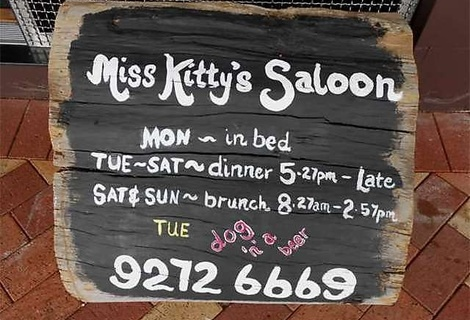 Miss Kitty's Saloon